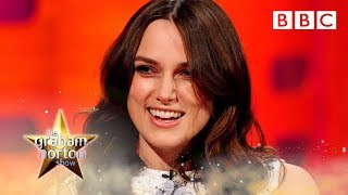 Keira Knightley's Sex Faces - The Graham Norton Show - Episode 11 Preview - BBC One