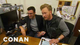 Download Song Conan Staffers' Parents Give Tips On Improving The Show - CONAN on TBS Free StafaMp3