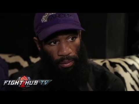 Lamont Peterson on Danny Garcia's 6 toes, his strengths & why they are fighting at catchweight