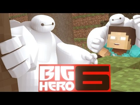 Minecraft Mods - MORPH HIDE AND SEEK - BIG HERO MOD!