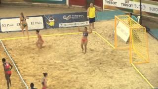 TWG - Beach handball 2013 - Colombia vs Australia - women (second half)