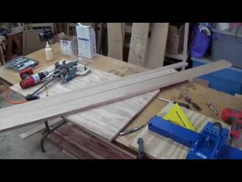 Kreg Jig K5 project - Couch Table from 3 stock oak boards
