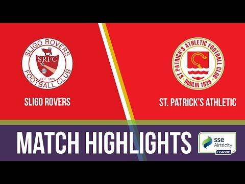GW20: Sligo Rovers 1-1 St. Patrick's Athletic