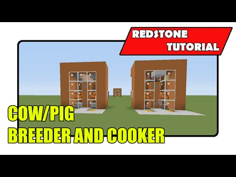 Cow/Pig Breeder And Cooker [Super Efficient] (Minecraft Xbox TU21/PlayStation CU8)