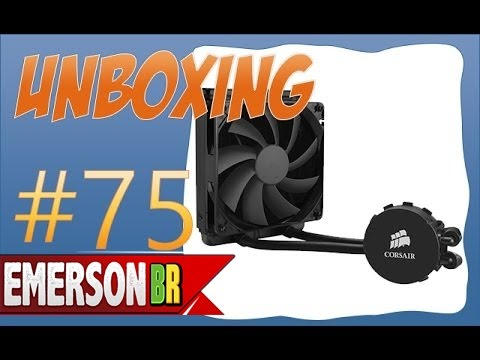 Unboxing - Corsair Water Cooler Hydro Series H90 [PT-BR]