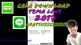 Cara download tema LINE ANDROID & IOS GRATIS 2017 TERBARU!!! ( NO ROOT )