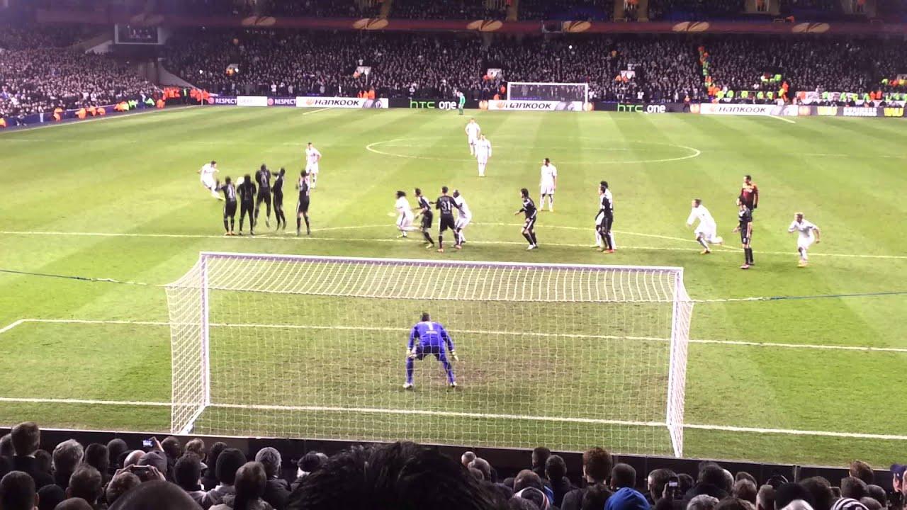 Bale Free Kick Wallpaper Gareth Bale Amazing Free Kick