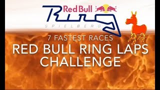 Real Racing 3 RR3 Red Bull Ring Laps Challenge: 7 Fastest Races
