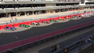 Engine start at lone star Le Mans