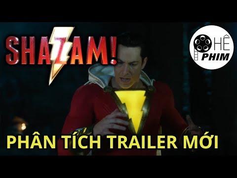 SHAZAM! - Phân tích trailer mới en streaming