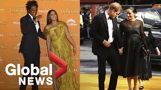 Prince Harry and Meghan, Beyonce attend premiere of 'The Lion King'