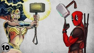 Top 10 Superheroes Who Can Lift Thor's Hammer