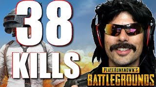 "Doc's ""38 Klll-Game"" on PUBG with Grimmmz and Anthony!"