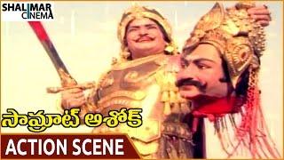 Samrat Ashok Movie    NTR Best Climax Action Scene    NTR, Vani Viswanath    Shalimarcinema