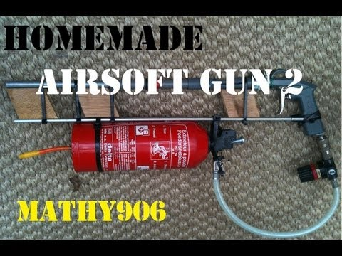 homemade airsoft gun (2nd design) part 2