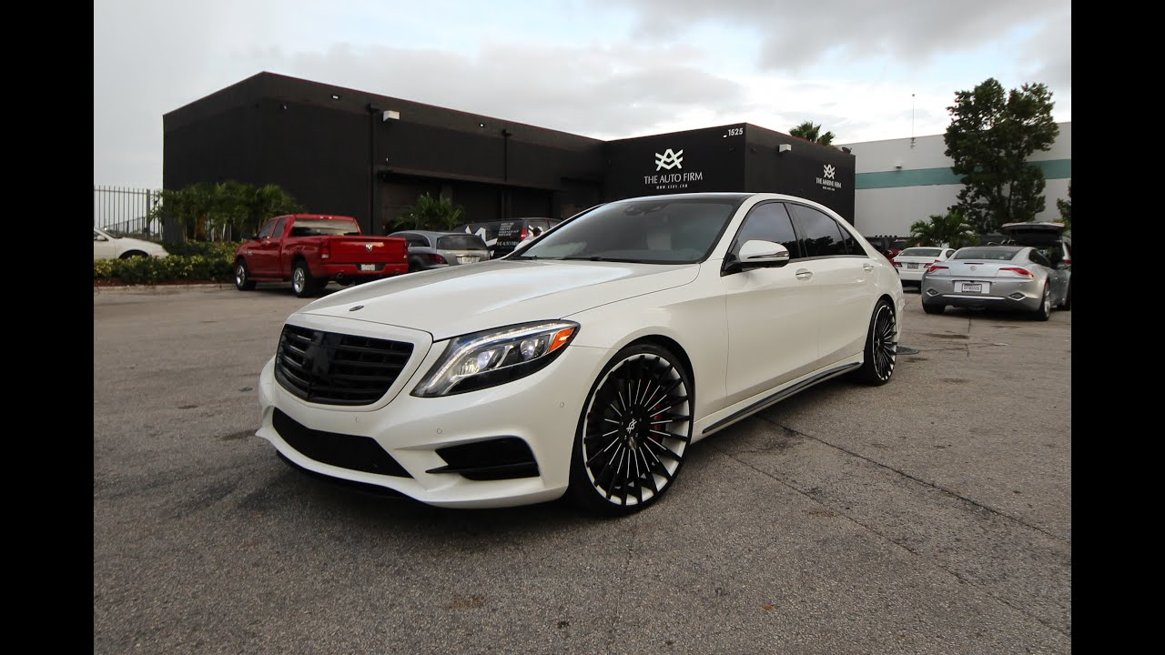 avorza 2015 mercedes benz s550 done for carlos boozer by