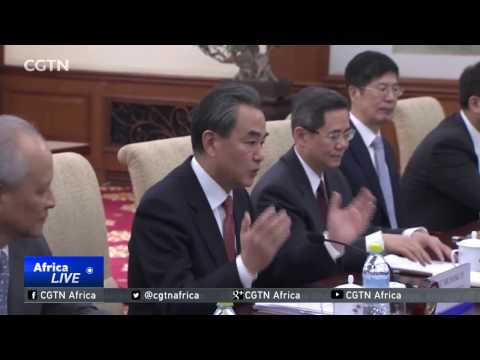 US Secretary Of State Meets With Chinese Foreign Minister