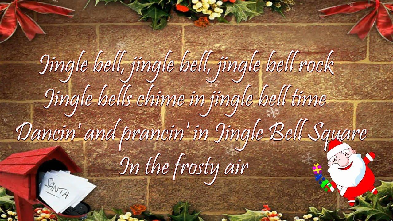 Jingle Bell Rock - Lyrics - YouTube