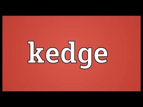 Header of kedge