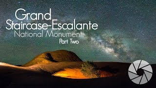 Night Photography Grand Staircase-Escalante in Utah | Landscape Photography | Milky Way Photography