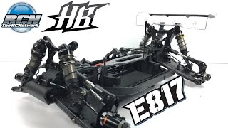 HB Racing E817 Electric 1/8th Buggy - Build Update 1