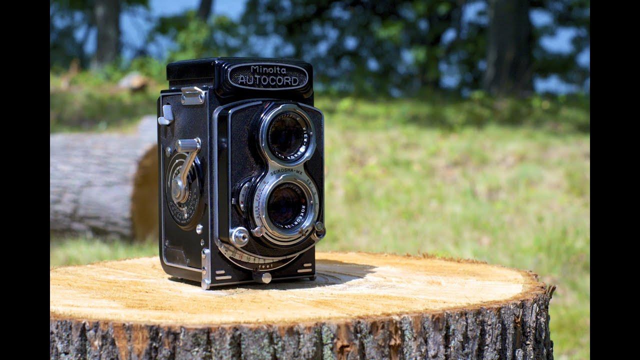 Minolta Autocord Tlr Camera Camera Minolta Autocord
