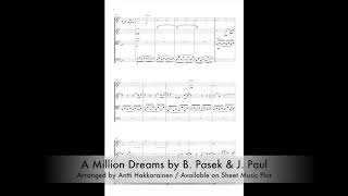 A Million Dreams From The Greatest Showman String Quartet