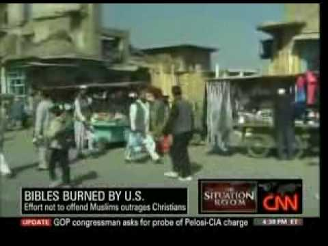 U.S. Military Burns Bibles in Afghanistan To Stop Proselytizing