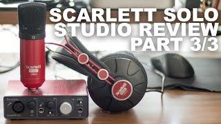 Focusrite Scarlett Studio HP60 Headphones Review / Test
