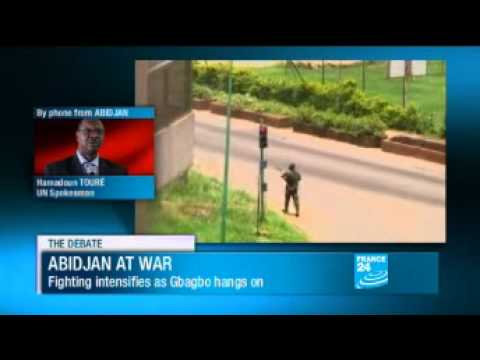 UN spokesperson Hamadoun Touré speaks to FRANCE 24 from Abidjan (05/04/2011)