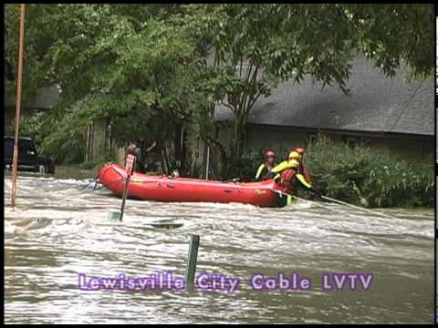 City Of Lewisville - Flood Timbercreek 09 / 08 / 10