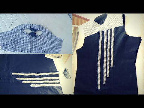 Latest TUNIC TOP DESIGN/FASHION DESIGNER design/DESIGNER SLEEVES DESIGN ,CUTTING STITCHING TUTORIAL