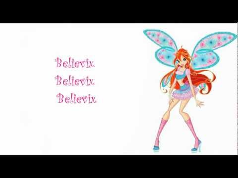 Winx Club Believix  ENGLISH Lyrics on Vid And Description!