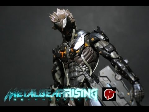 Toy Review: Play Arts Kai Raiden (Metal Gear Rising: Revengeance)