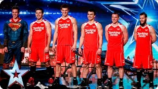 Dunking Devils score a slam dunk with the Judges | Auditions Week 7 | Britain's Got Talent 2016