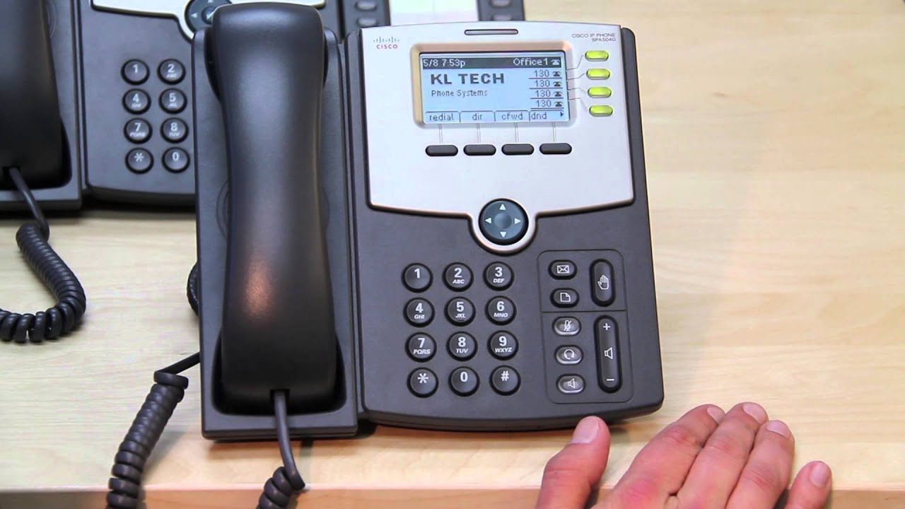 Cisco Spa Phone With 3cx Phone System Youtube