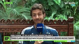 Entrevista completa a Pablo Aimar en Estudio Fútbol