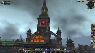 World of Warcraft** *Worgen and Undead city***