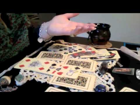 Fortunetelling with Playing Cards —Reading For E