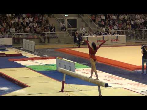 Kyla Ross (USA) Jesolo 2012 Beam - 15.50, 1st place