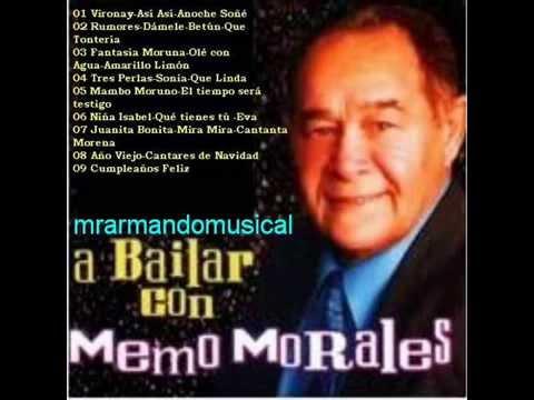 A BAILAR CON MEMO MORALES.- DISCO COMPLETO.- 25 Temas.-