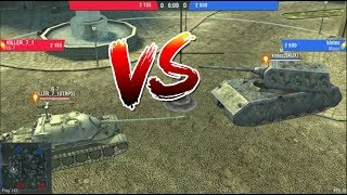 WoT Blitz Maus Vs Is7 The beast in trouble
