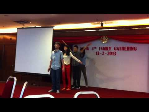 Oppa Gangnam Style performance by cousins [Part 2]