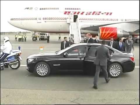 Narendra Modi's arrival at Berlin