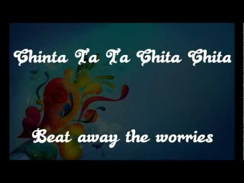 chinta Ta Ta Chita Chita Lyrics & English Translation - rowdy Rathore (2012) video