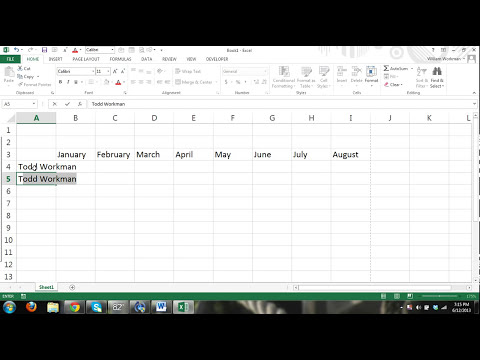MS Excel 2013 Tutorial FOR BEGINNERS PART 1 - How to use Excel - formulas, charts, tables