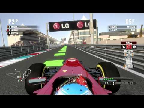 F1 2011 Gameplay Ita PC Gran Premio di Abu Dhabi Gara 16# -Nell'occhio del ciclone-