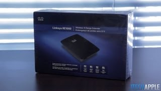 Linksys RE1000 Wireless-N Range Extender Unboxing