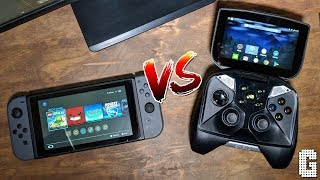 Nintendo Switch VS Nvidia Shield Portable