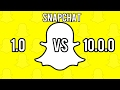 Download Snapchat version 1.0 vs 10.0.0! What a change! in Mp3, Mp4 and 3GP